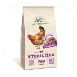 Life cat adult sterilizzato con pollo fresco da 400 gr