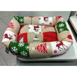 Cuccia per cani e gatti natalizia Rinaldo Franco