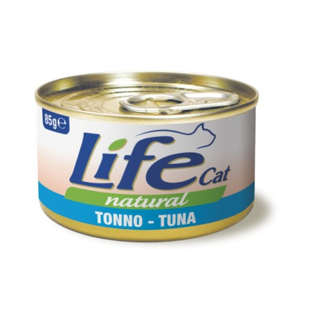Life cat filetti Tonno per gatti adulti lattina da 85 gr