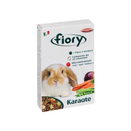 fiory Karaote mangime composto per conigli nani da 850 gr