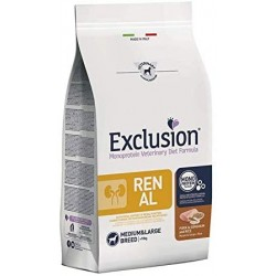 Exclusion Renal Medium Large Adult Maiale,Sorgo e Riso 2 kg